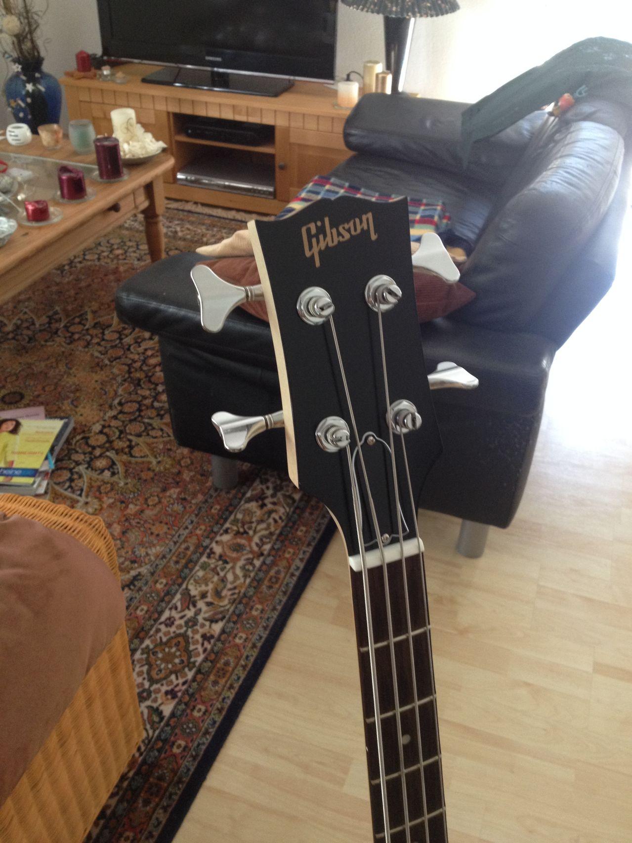 Review Baixo Gibson Eb14 4 cordas Head