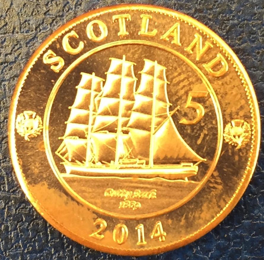 Monedas de lo que pudo ser una Escocia independiente IMG_4410