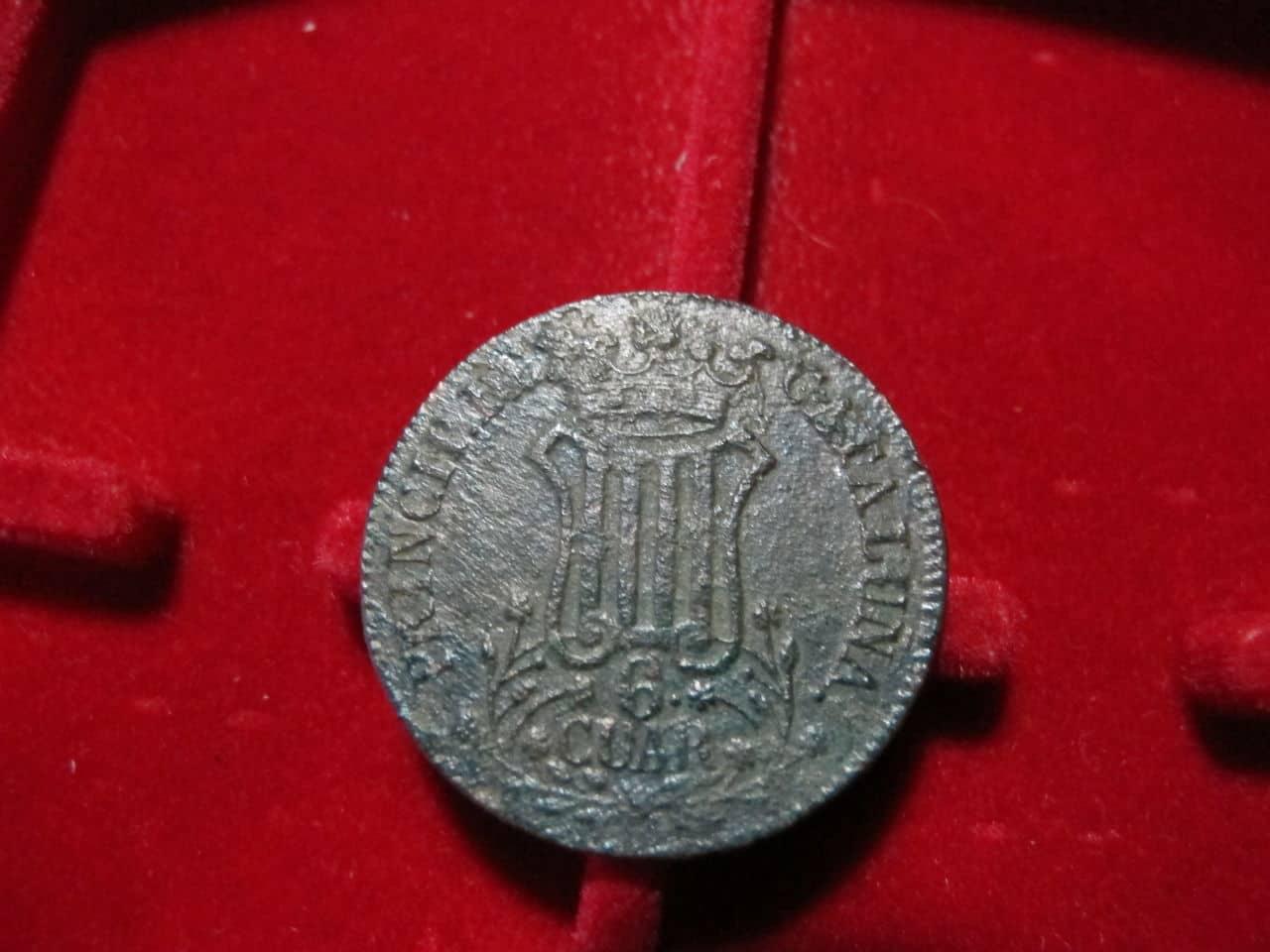6 Cuartos 1839. Isabel II. Barcelona IMG_3522
