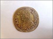 Jetón de Núremberg. s.XVIII. María Josefa de Austria. M. de Ceca: Johann Adam Vogel P1150172