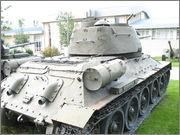 Советский средний танк Т-34-85, производства завода № 112,  Военно-исторический музей, София, Болгария 34_85_128