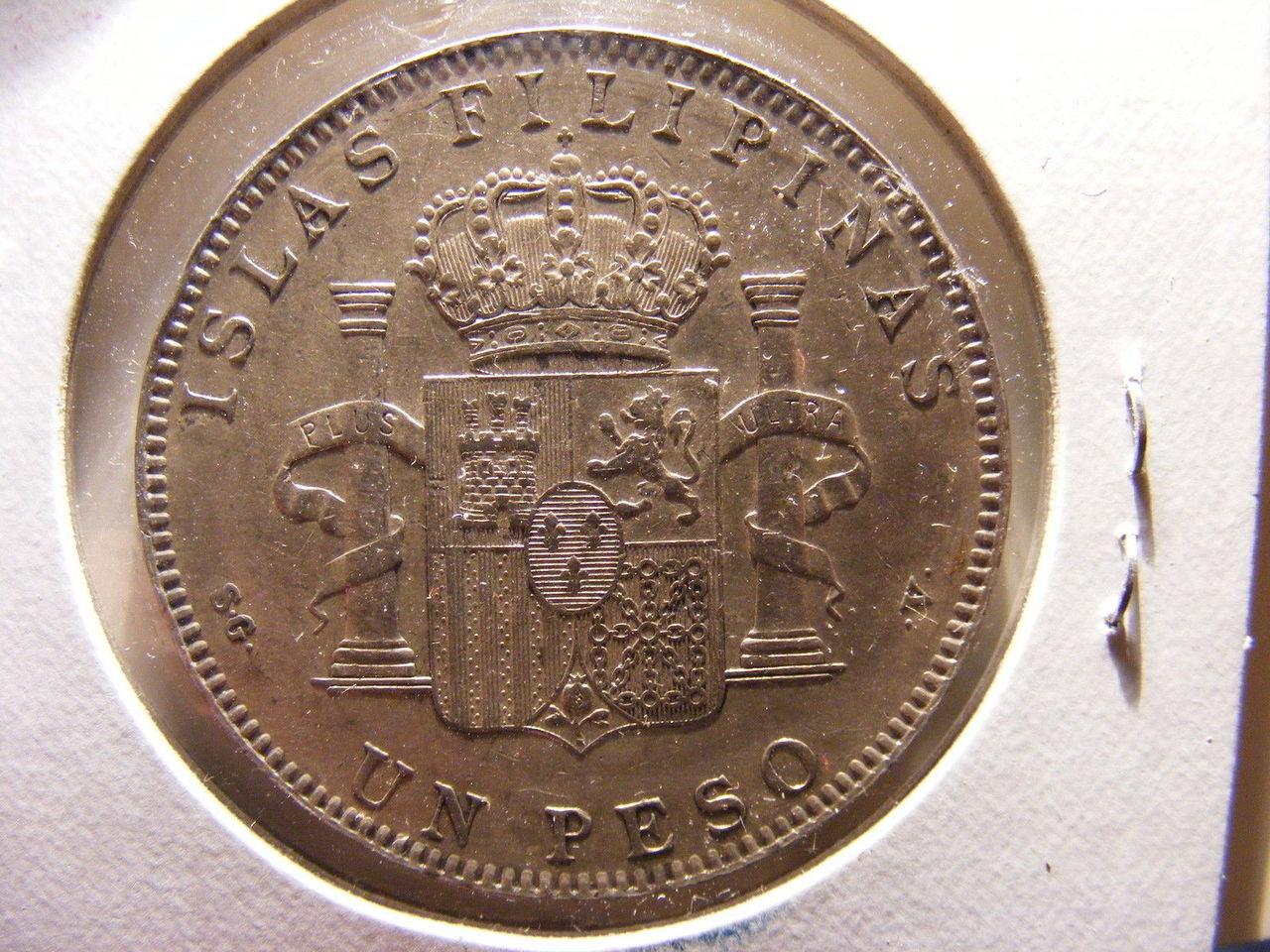 [Ayuda] Filipinas 1 Peso 1897 1897b