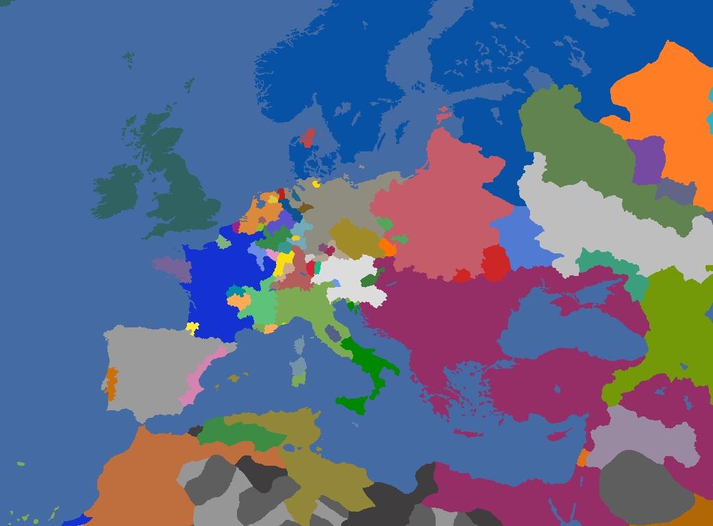 "MP-""Europa Divisa"" 1682"