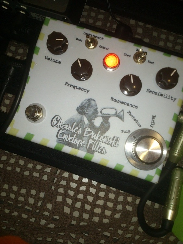 MG Music Charles Bukowski Envelope Filter Pedal