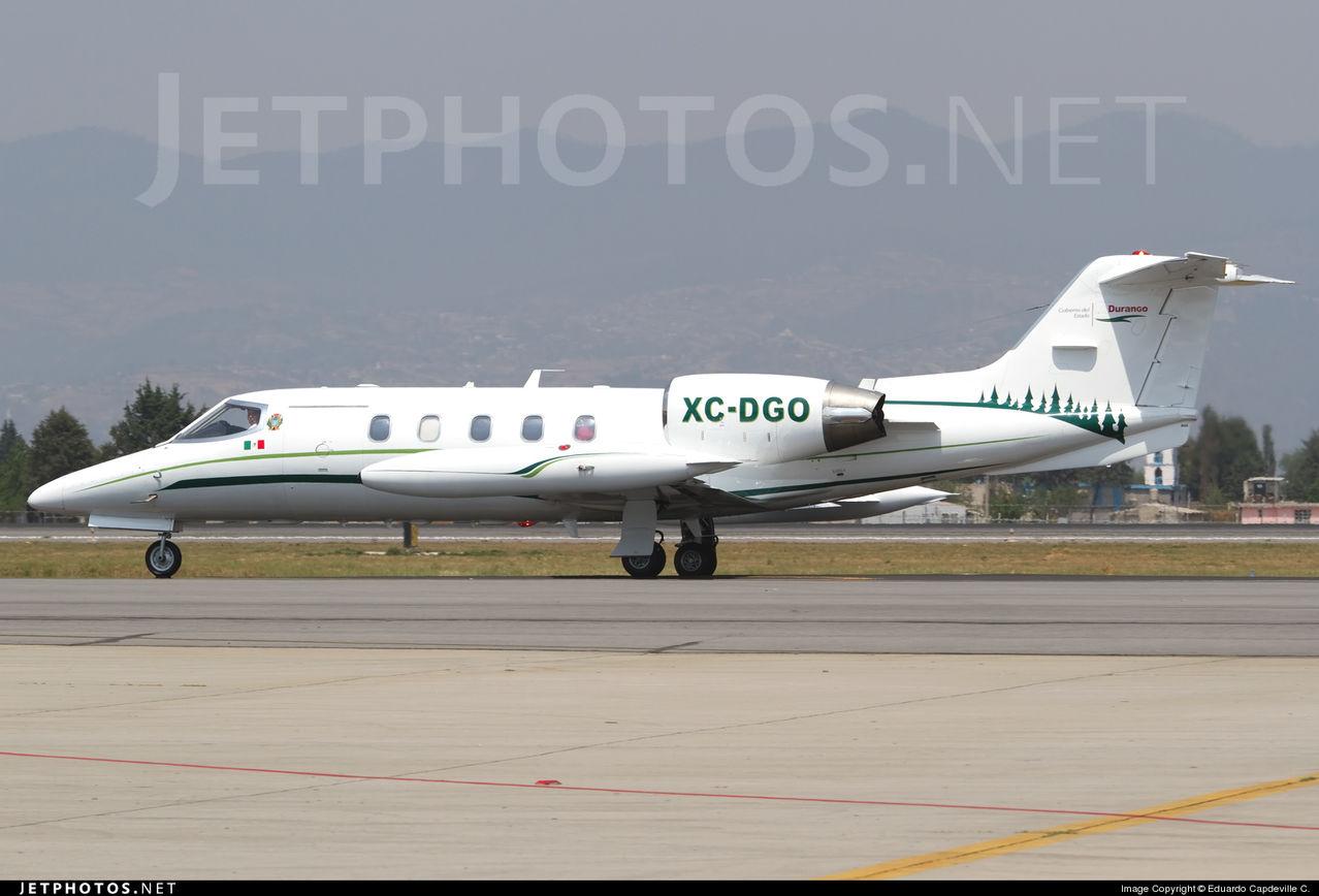 Aeronaves  Matriculas  XC-  ( Por Estados) Durango_Bombardier_Learjet_35_A_XC_DGO_2011