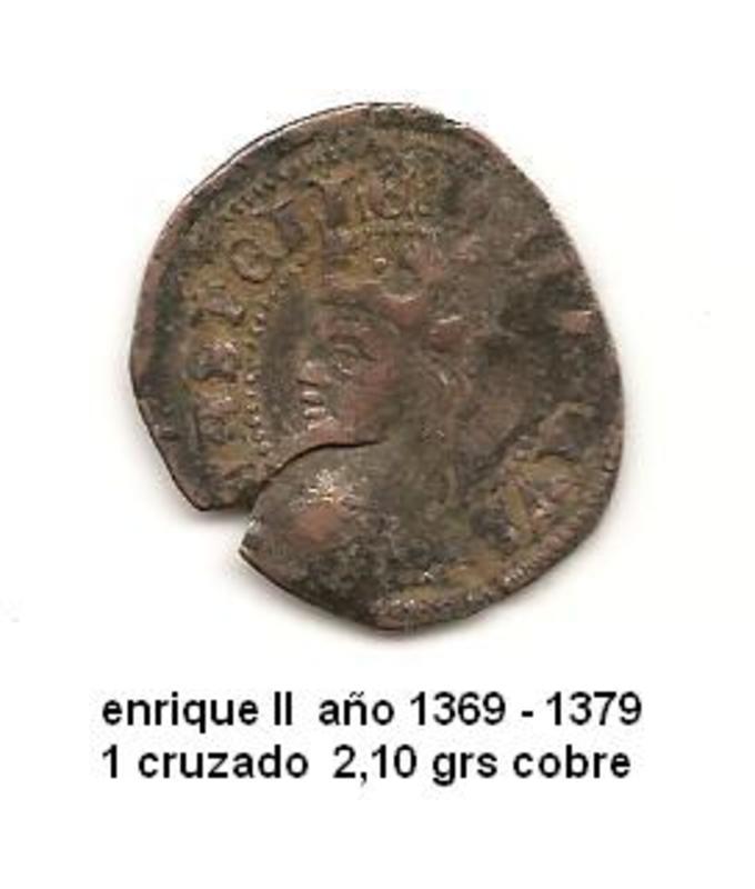 Cruzado de Enrique II Enrique_II_1_cruzado_1369_1379