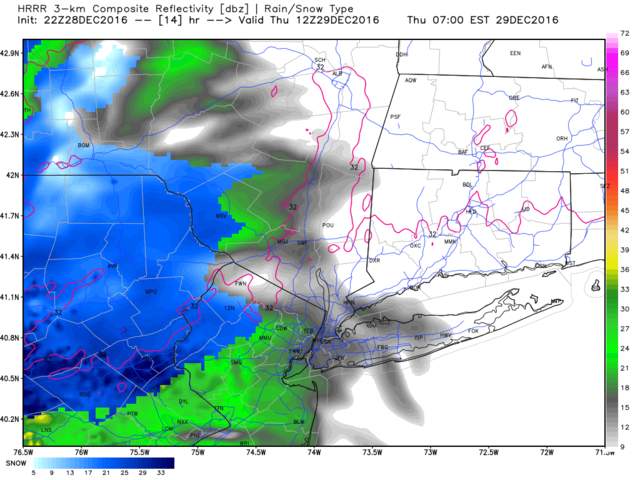 12/29 Potential Snowstorm Update #1  - Page 6 Hrrr