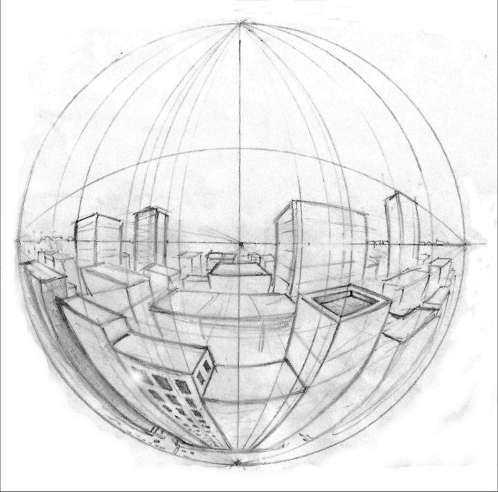 Die Erde, in der wir leben und der Raum, der die Welt ist - Seite 42 Five_point_perspective_by_awlaux