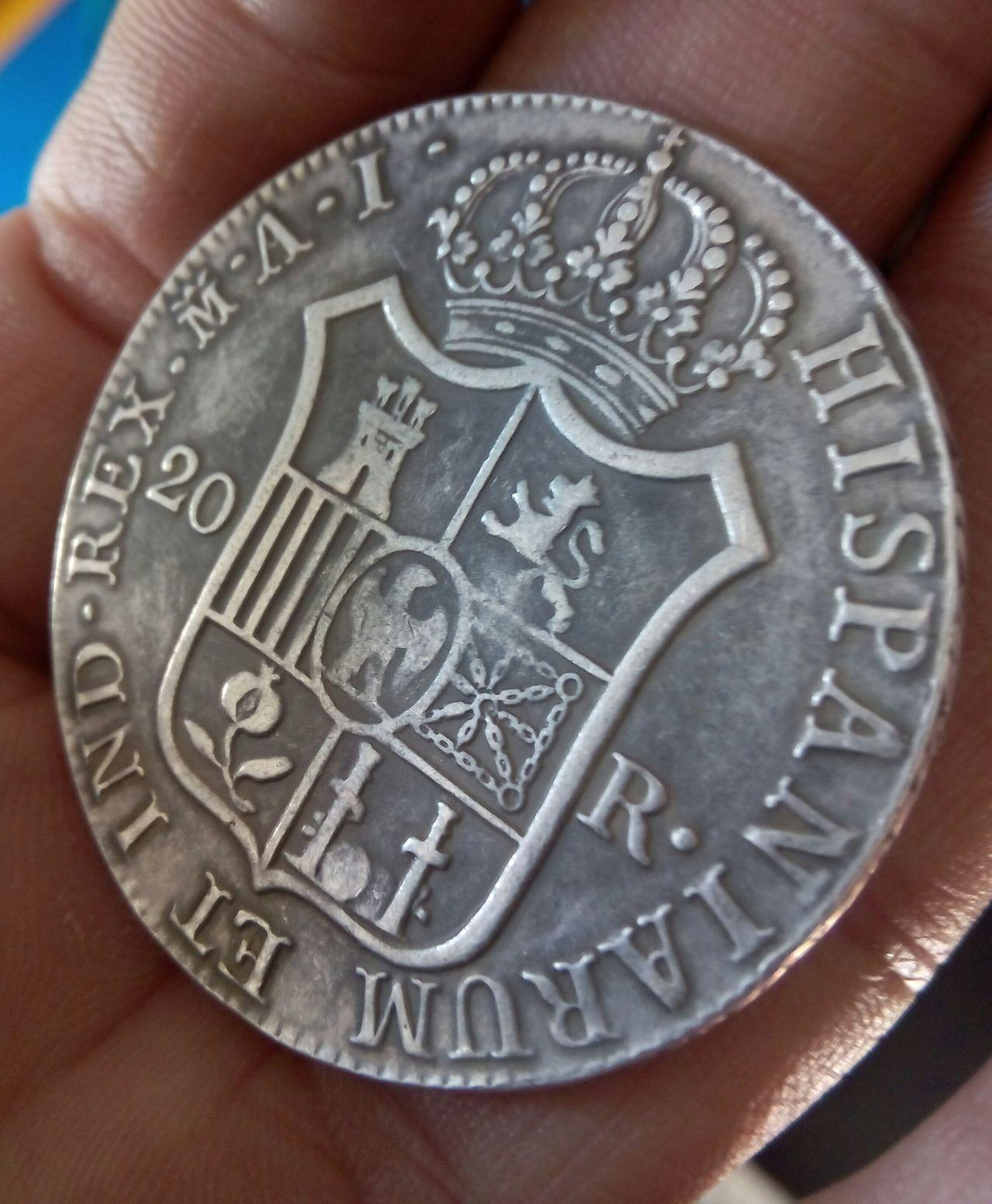 20 Reales 1810. José I Bonaparte.   IMG_20160210_100838