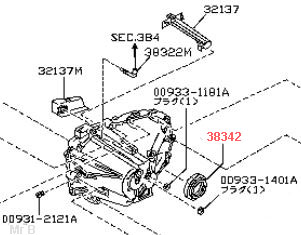 Gearbox - Transfer box oil seals Gb_ds_Seal_NS