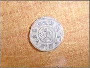 "Dinero ""bienpeinao"" de Alfonso VIII (1158-1214) de Toledo P1150064"