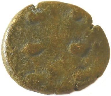 Æ Dracma. Orodes II. Reino Elymaida. 150-200 d.C. 218a