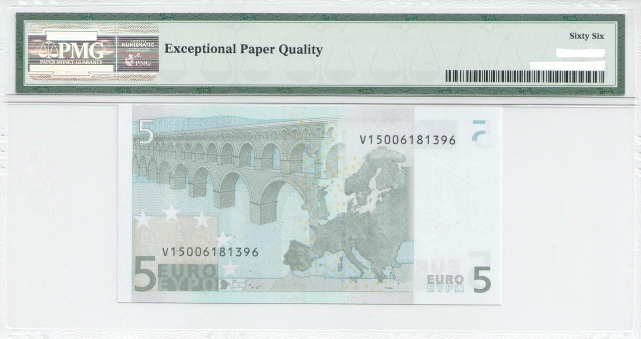 Colección de billetes españoles, sin serie o serie A de Sefcor - Página 3 5_euros_trichet_reverso