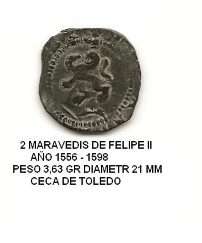 2 maravedís de Felipe II año 1578-1592 Image