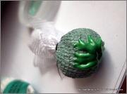 Скрапбукинг. Голубой мак, карандашница или декорваза для сухоцветов. 1_DSCF1942
