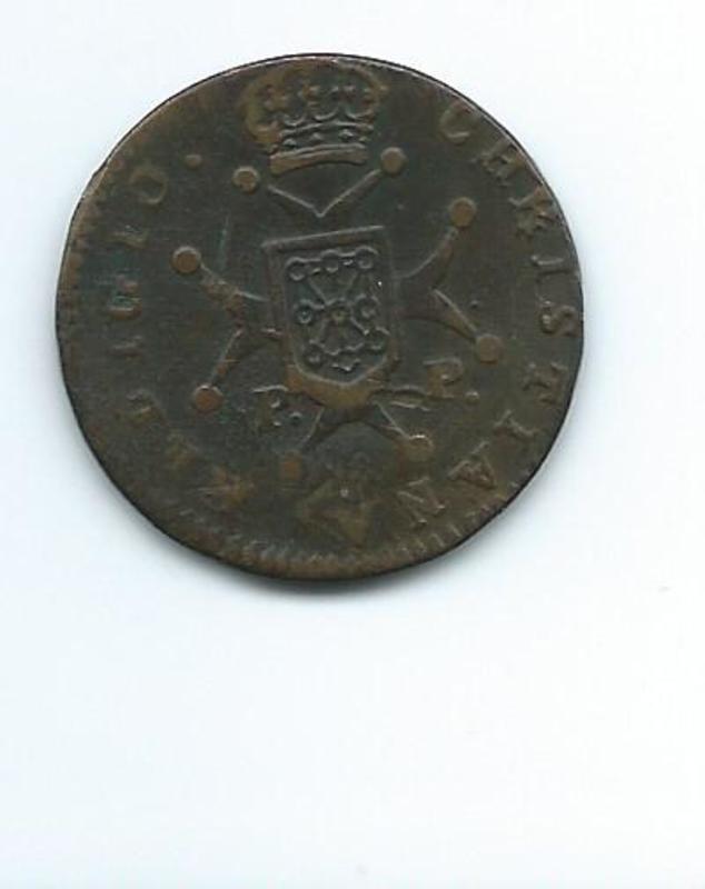 3 maravedís 1826 Fernando VII y  III de Navarra  3_maravedis_1