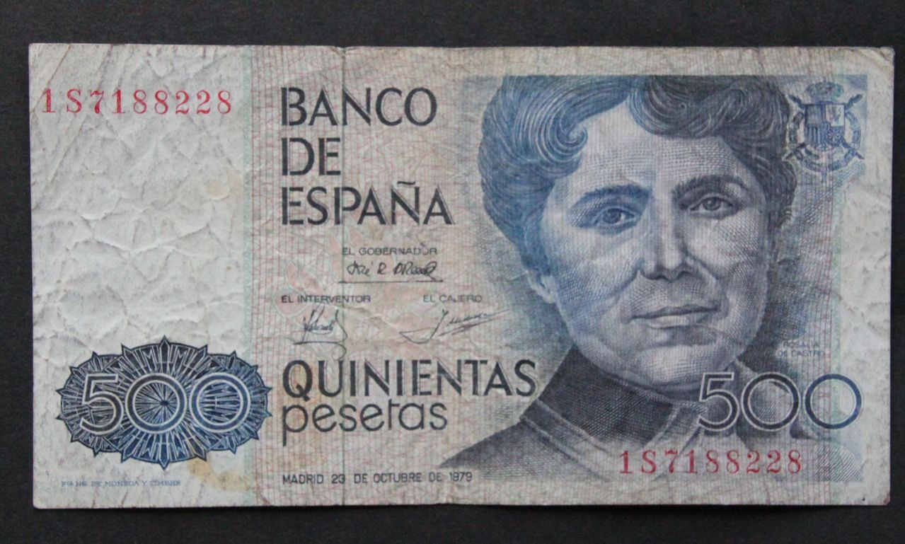Billete 500 pesetas 1979 500_pesetas