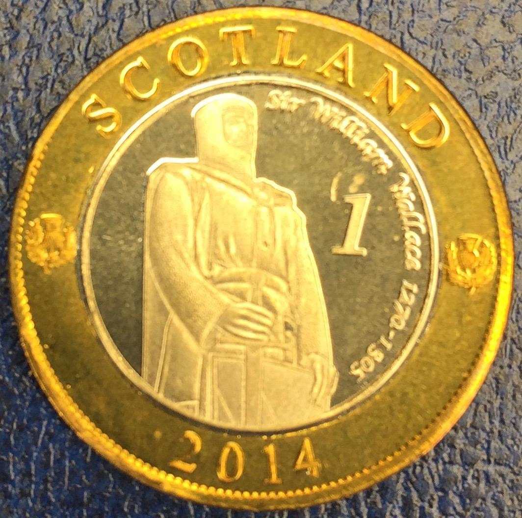 Monedas de lo que pudo ser una Escocia independiente IMG_4398