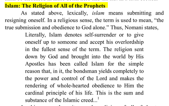 Islam religion de Tous les Prophétes Image