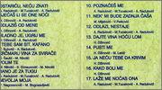 Haris Dzinovic  - Diskografija  1991_z