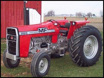 Hilo de tractores antiguos. - Página 39 MF_265