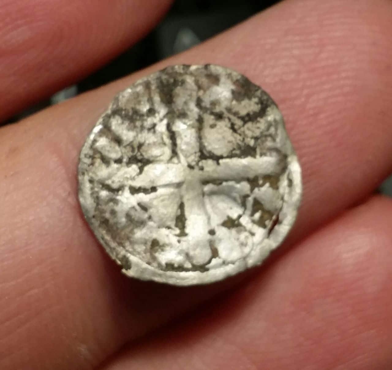 Dinero de Alfonso IX de León 1188-1230  A_ix_a