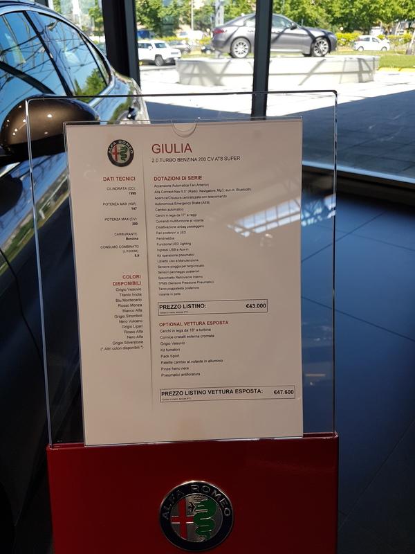 Dopo lunga attesa... ci siamo!! Alfa Romeo Giulia!! - Pagina 14 20170419_114416