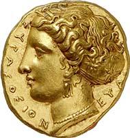 Algunas monedas hermosas Decadracma_anverso