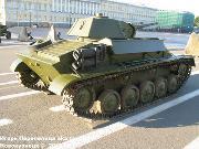 Советский легкий танк Т-70,  Музей битвы за Ленинград, Ленинградская обл. -70_-019