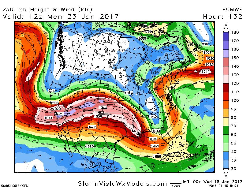 January 22nd-23rd High Impact Storm UL_jet