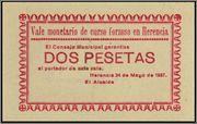 RARA ENISION DE HERENCIA DE MAYO  DE 1937 Herencia_2_pesetas_mayo
