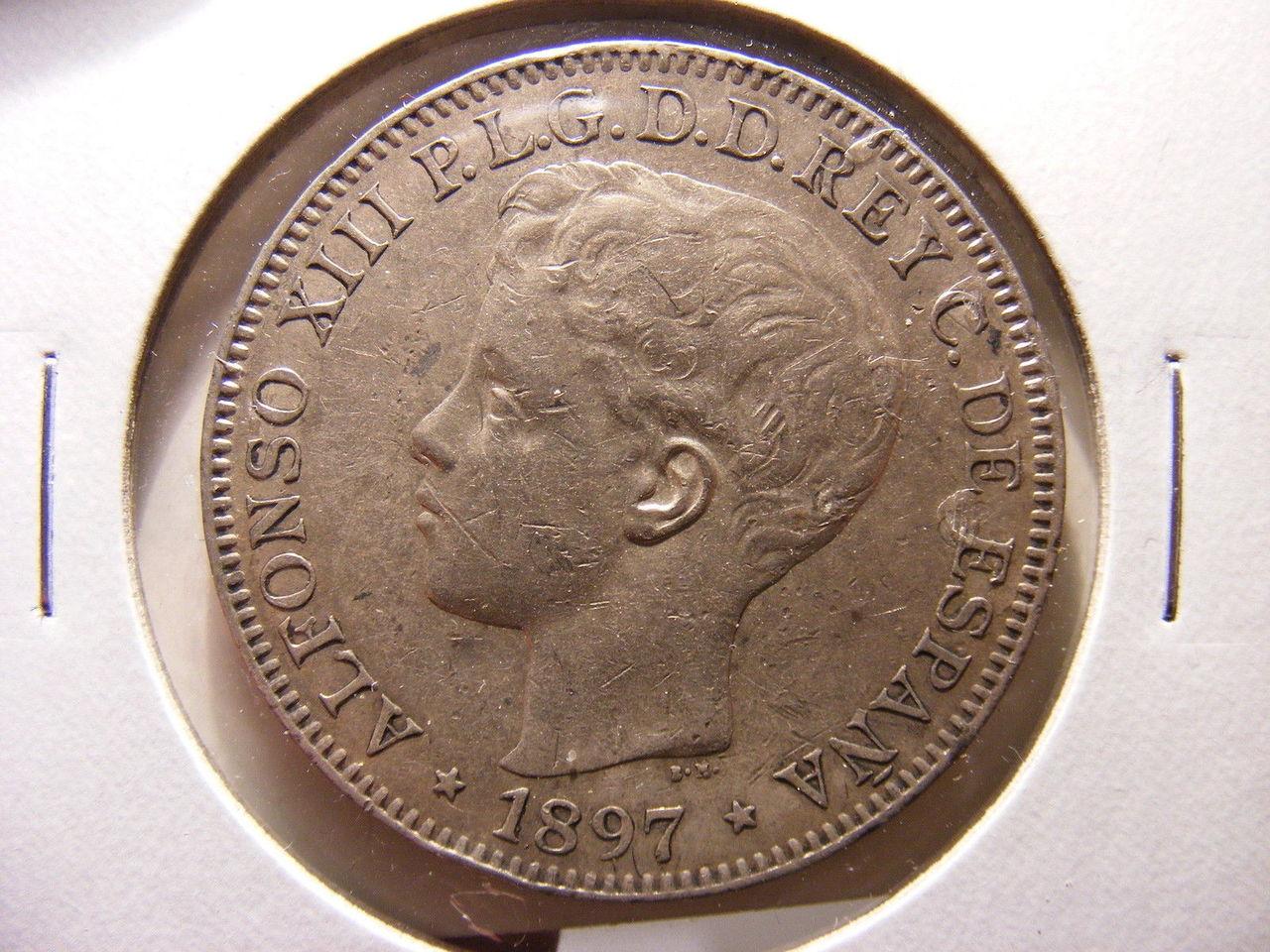 [Ayuda] Filipinas 1 Peso 1897 1897