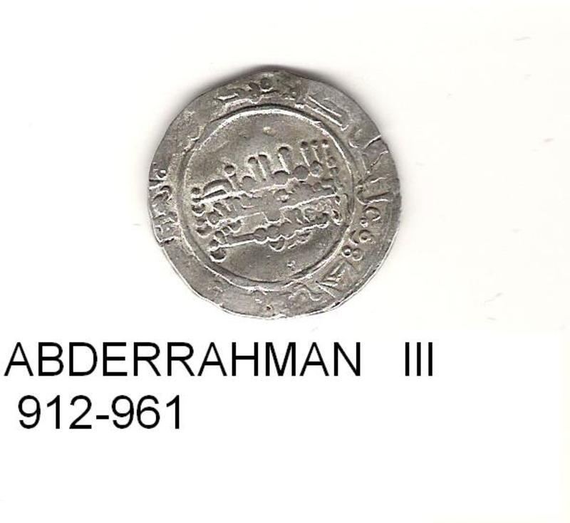 1 dirhem de Abderraman III año 300- 350  hégira o 912-961 de j.c.  DIRHEM_AL_ANDALUS_6