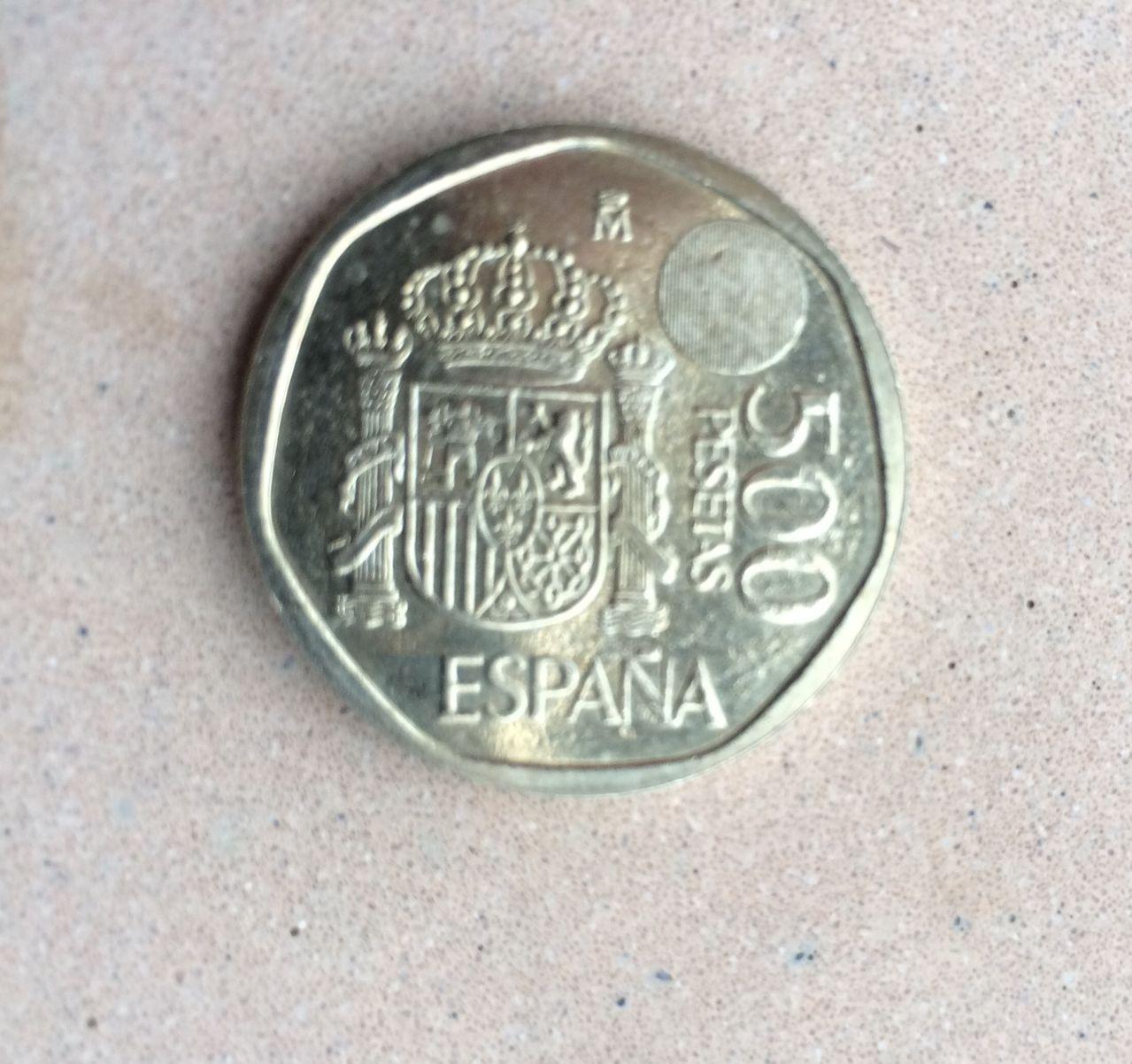 Moneda 500 pesetas 2001 rara Image