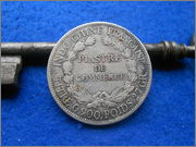 1 piastra de comercio Indochina francesa 1921 DSCN2084
