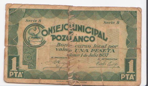 El billete peor conservado de esta seccion Pozoblanco_1_pta_anv