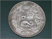 5 soles de oro 1966, Perú Sol2