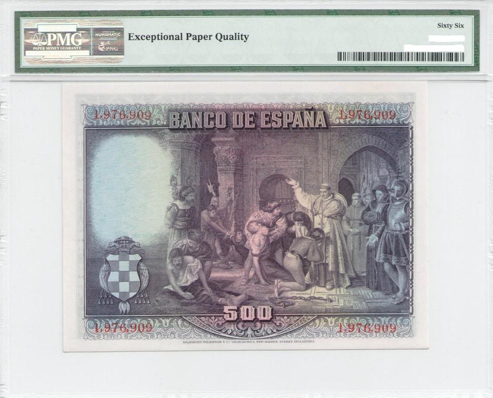 Colección de billetes españoles, sin serie o serie A de Sefcor - Página 3 500_del_28_reverso