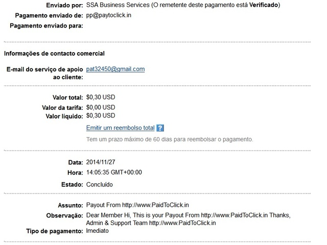 PaidToClick.in -Provas de Pagamento Pag_9_paidtoclick