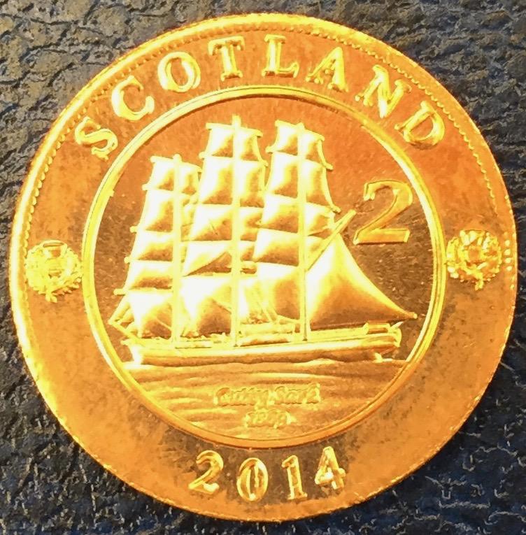 Monedas de lo que pudo ser una Escocia independiente IMG_4412