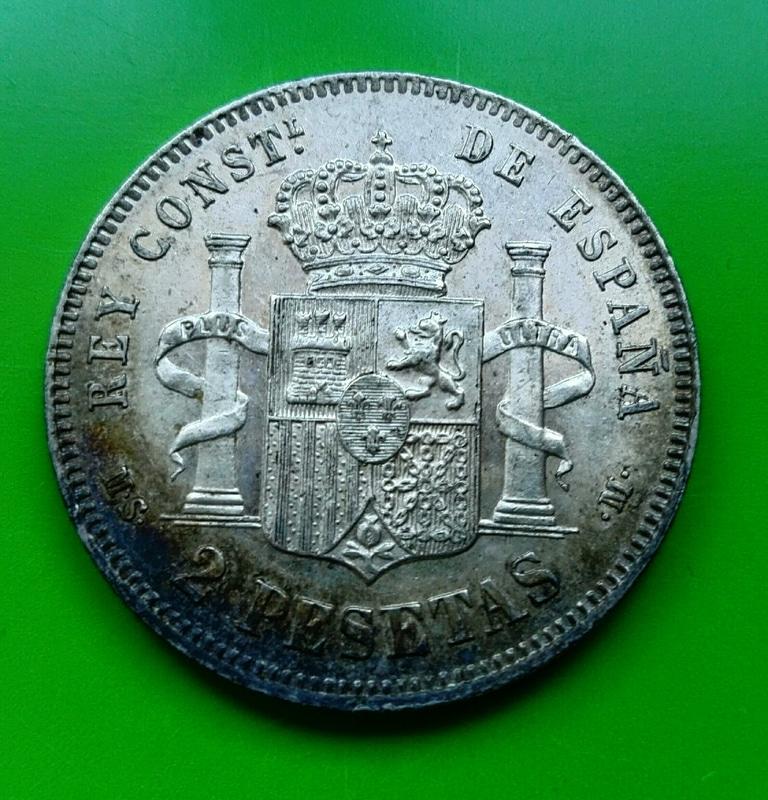 2 pesetas 1882. Alfonso XII IMG_20161208_153349