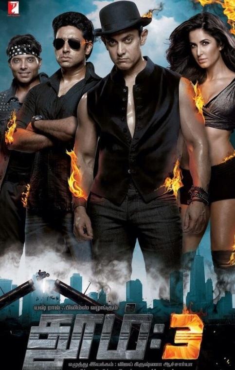 Dhoom 3 (2013) (Tamil Dubbed) DVDScr ~ 700MB ~ Xvid ~ Vinok2 Dhoom_3_tamil_posters