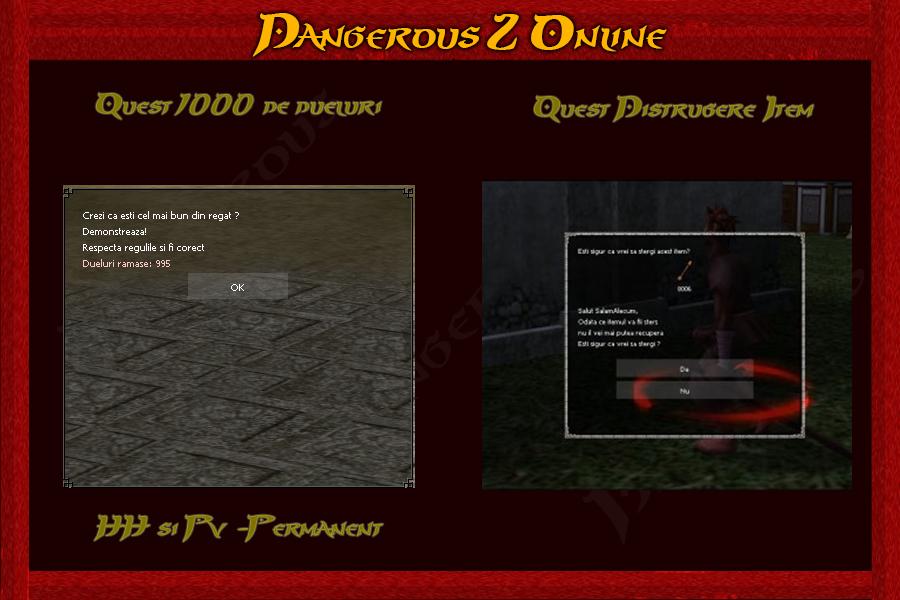 Metin2 Dangerous  PvM-PvP Quest_1000_Dueluri_si_Distrugere_iteme
