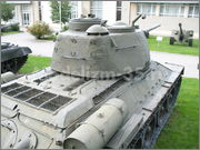 Советский средний танк Т-34-85, производства завода № 112,  Военно-исторический музей, София, Болгария 34_85_129