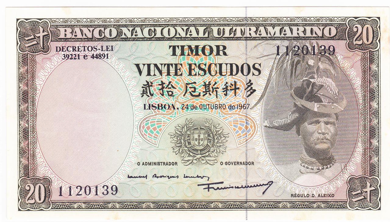 20 Escudos, 1967 Timor_20_escudos_1967_A