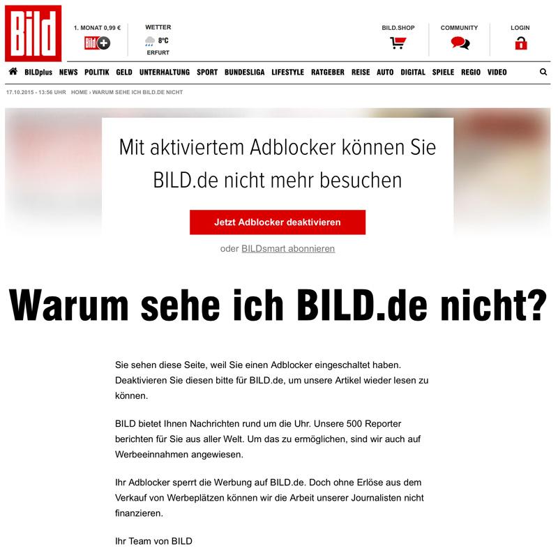 Presseschau Bild