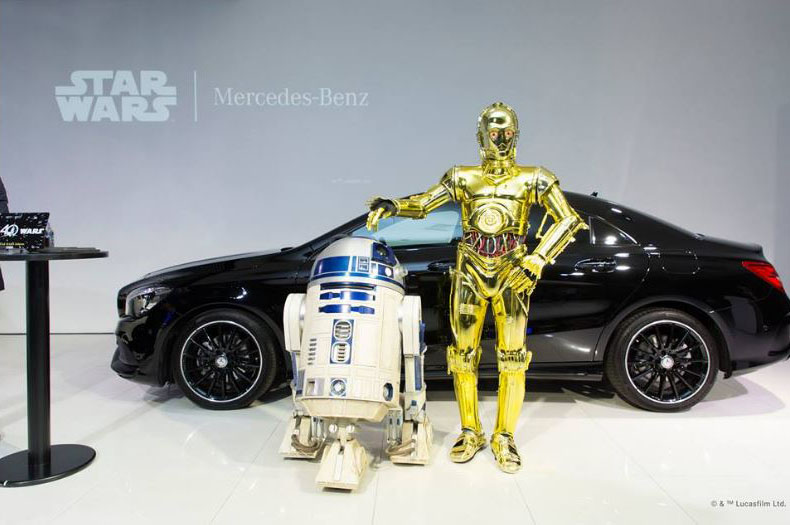 Que a força esteja com os Japoneses Mercedes-_Benz-_CLA-18-_Star-_Wars-_Edition-1