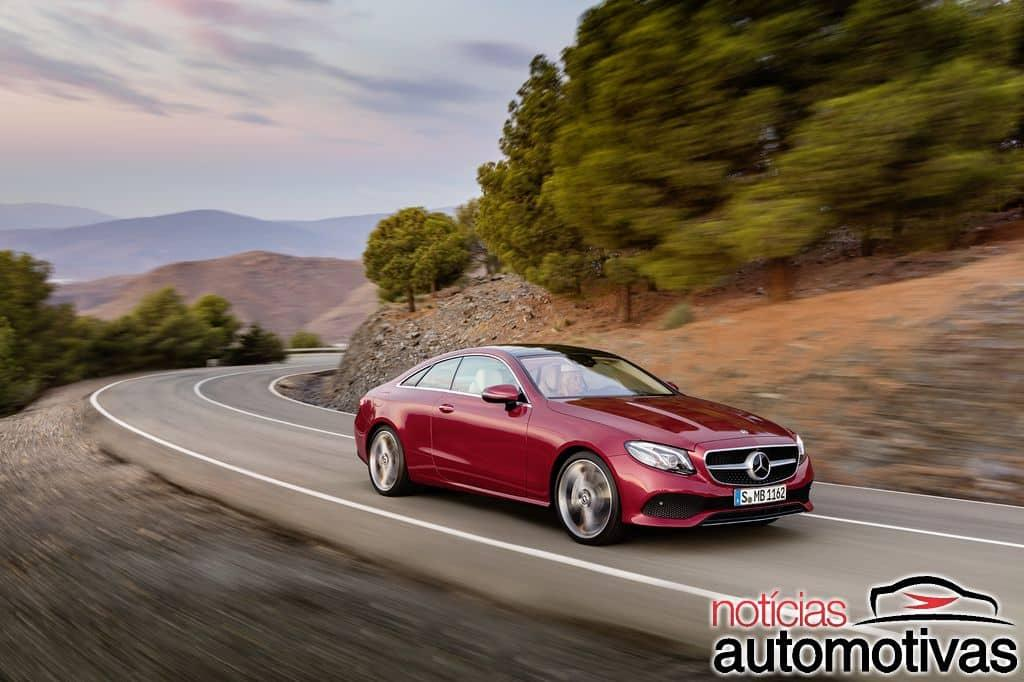 Mercedes-Benz E 300 Coupé 2018 chega ao Brasil por R$ 390,9 mil Mercedes-_Benz-_E-300-_Coup_-2018-1