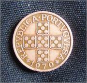 Republica Portuguesa 1 escudo 1970 P3040059