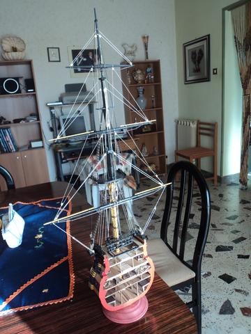 victory - Sezione maestra HMS Victory DSC07969